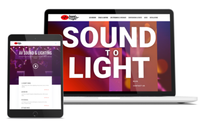 New Sound To Light Website Launched